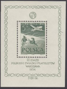 III Zjazd Polskiego Związku Filatelistów - Blok 13
