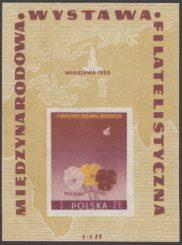 Międzynarodowa Wystawa Filatelistyczna w Warszawie - Blok 16