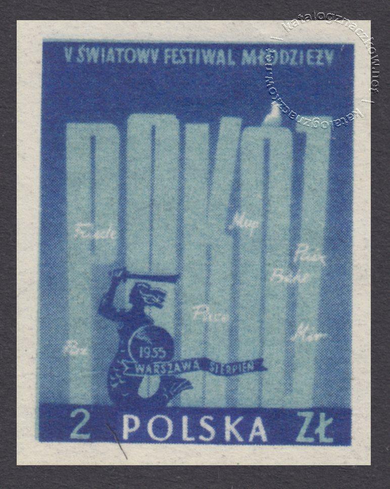 Międzynarodowa Wystawa Filatelistyczna w Warszawie znaczek nr 797