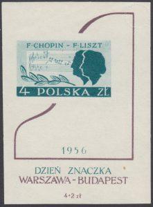 Dzień Znaczka Warszawa - Budapeszt - Blok 18
