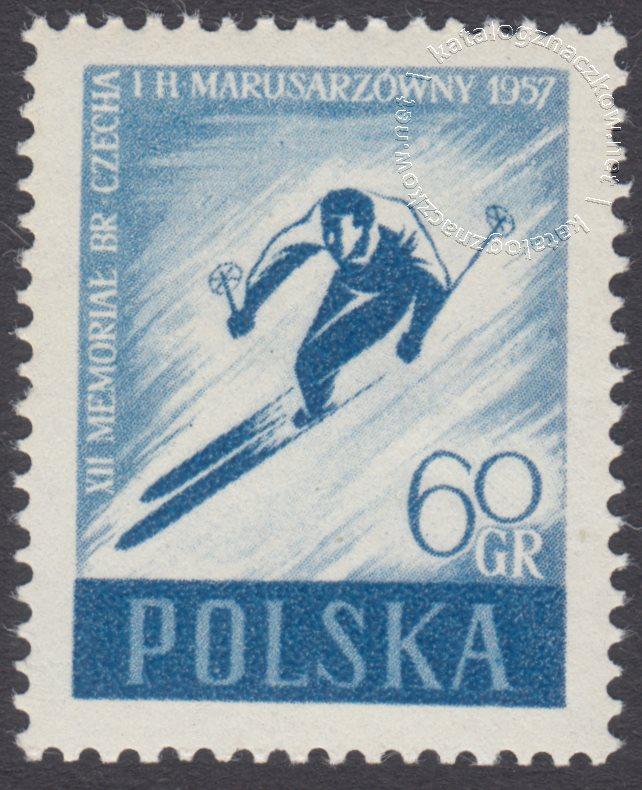 XII Memoriał Bronisława Czecha i Heleny Marsusarzówny znaczek nr 858B