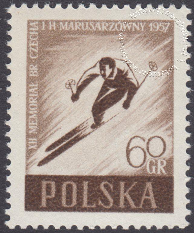 XII Memoriał Bronisława Czecha i Heleny Marsusarzówny znaczek nr 858A
