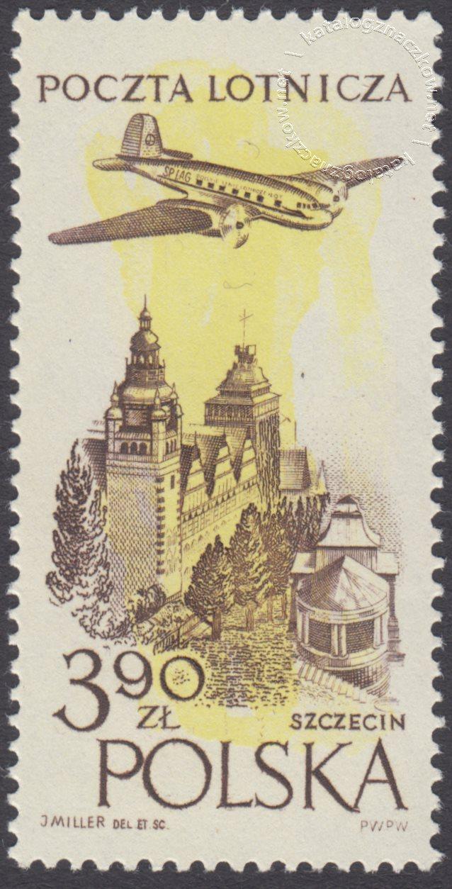 Wydanie na przesyłki lotnicze znaczek nr 893