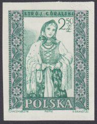 Polskie stroje ludowe - 1000A