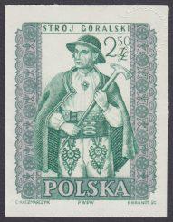 Polskie stroje ludowe - 1001A