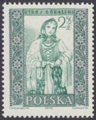 Polskie stroje ludowe - 1000B