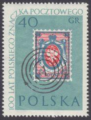 100 lecie polskiego znaczka pocztowego - 1007