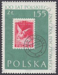 100 lecie polskiego znaczka pocztowego - 1010