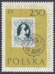 100 lecie polskiego znaczka pocztowego - 1011