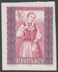 Polskie stroje ludowe - 1013A