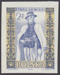 Polskie stroje ludowe - 1014A