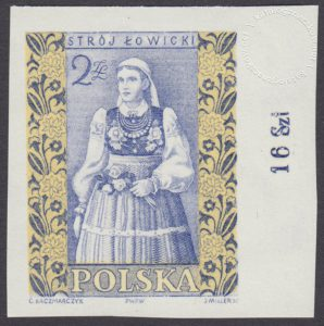 Polskie stroje ludowe - 1015A