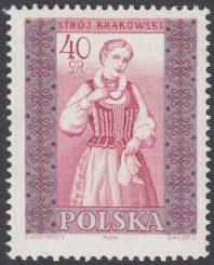 Polskie stroje ludowe - 1013B