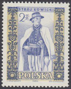 Polskie stroje ludowe - 1014B