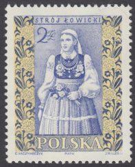 Polskie stroje ludowe - 1015B