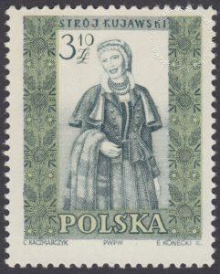 Polskie stroje ludowe - 1017B
