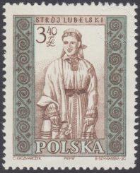 Polskie stroje ludowe - 1019B