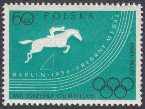 XVII Igrzyska Olimpijskie w Rzymie - 1025B