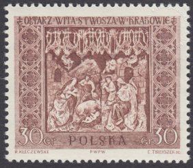 Ołtarz Wita Stwosza - 1036