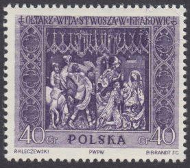 Ołtarz Wita Stwosza - 1037