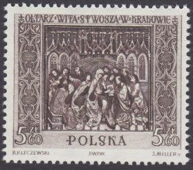 Ołtarz Wita Stwosza - 1040