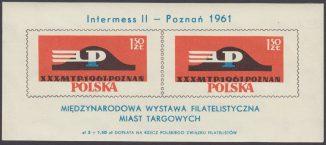Międzynarodowa Wystawa Filatelistyczna Miast targowych - Blok 23II