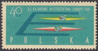 VI Kajakowe Mistrzostwa Europy - 1110B