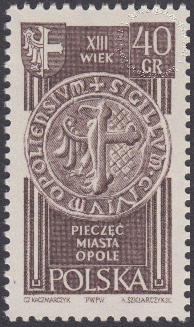 Polskie Ziemie Zachodnie znaczek nr1103