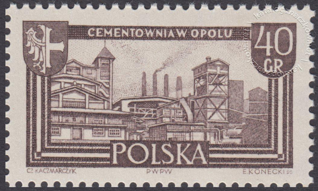 Polskie Ziemie Zachodnie znaczek nr 1104