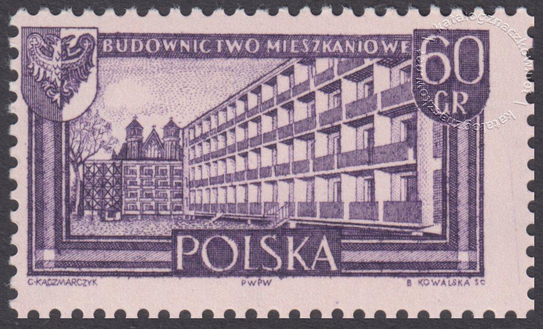 Polskie Ziemie Zachodnie znaczek nr 1106