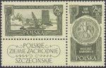 Polskie Ziemie Zachodnie znaczki nr 1107-1108
