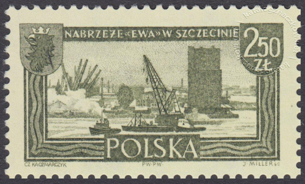 Polskie Ziemie Zachodnie znaczek nr1108