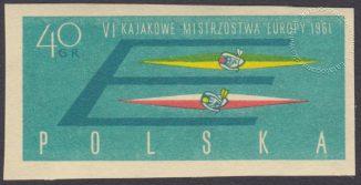 VI Kajakowe Mistrzostwa Europy - 1110A