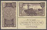 Polskie Ziemie Północne znaczki nr 1173-1174
