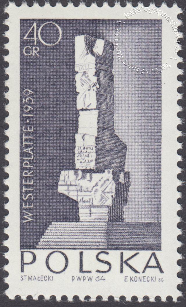 Walka i Męczeństwo Narodu Polskiego znaczek nr 1385