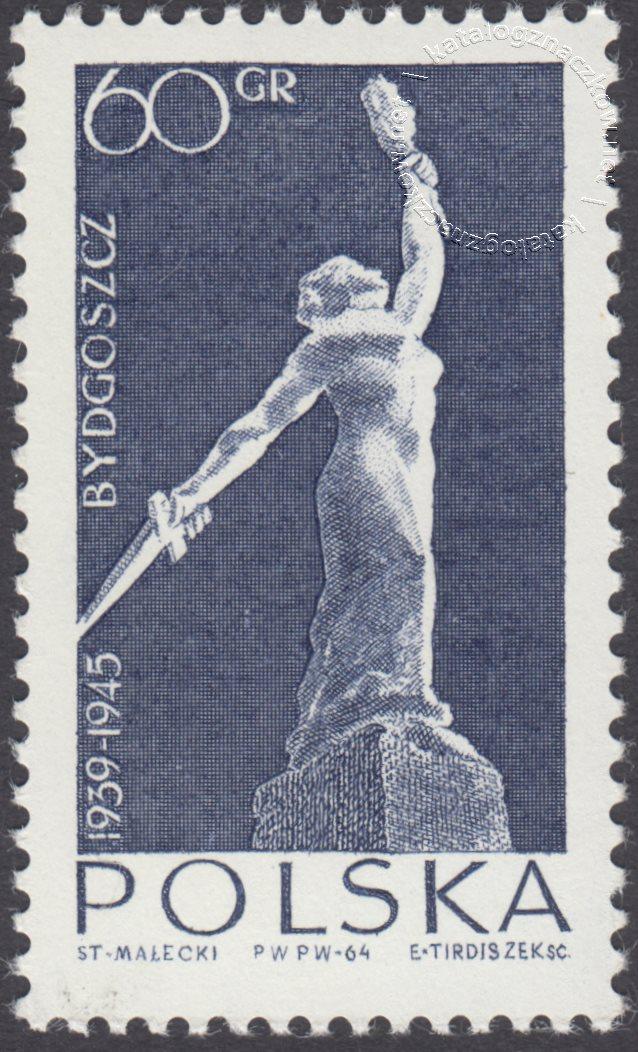 Walka i Męczeństwo Narodu Polskiego znaczek nr 1386