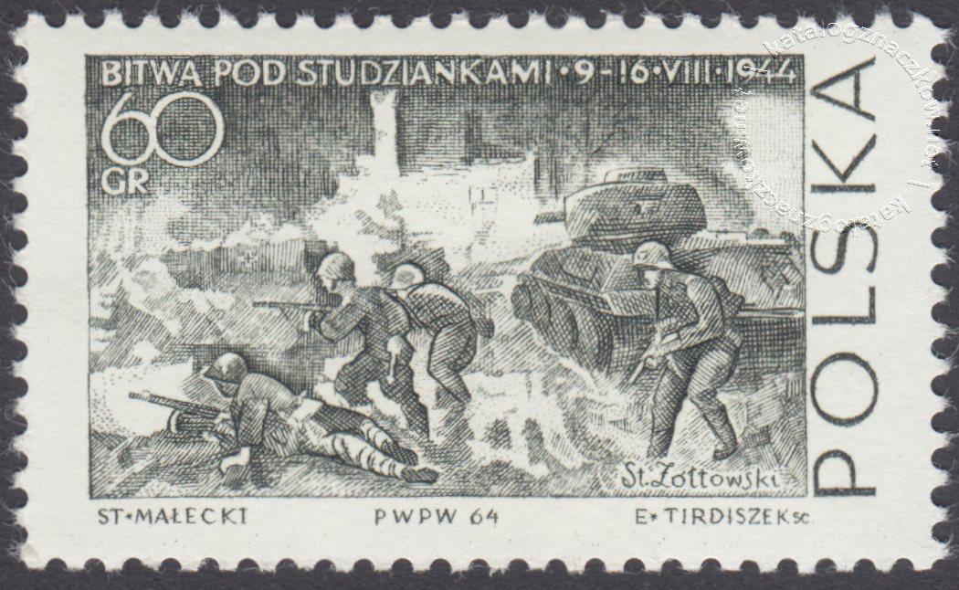 Walka i Męczeństwo Narodu Polskiego znaczek nr 1388