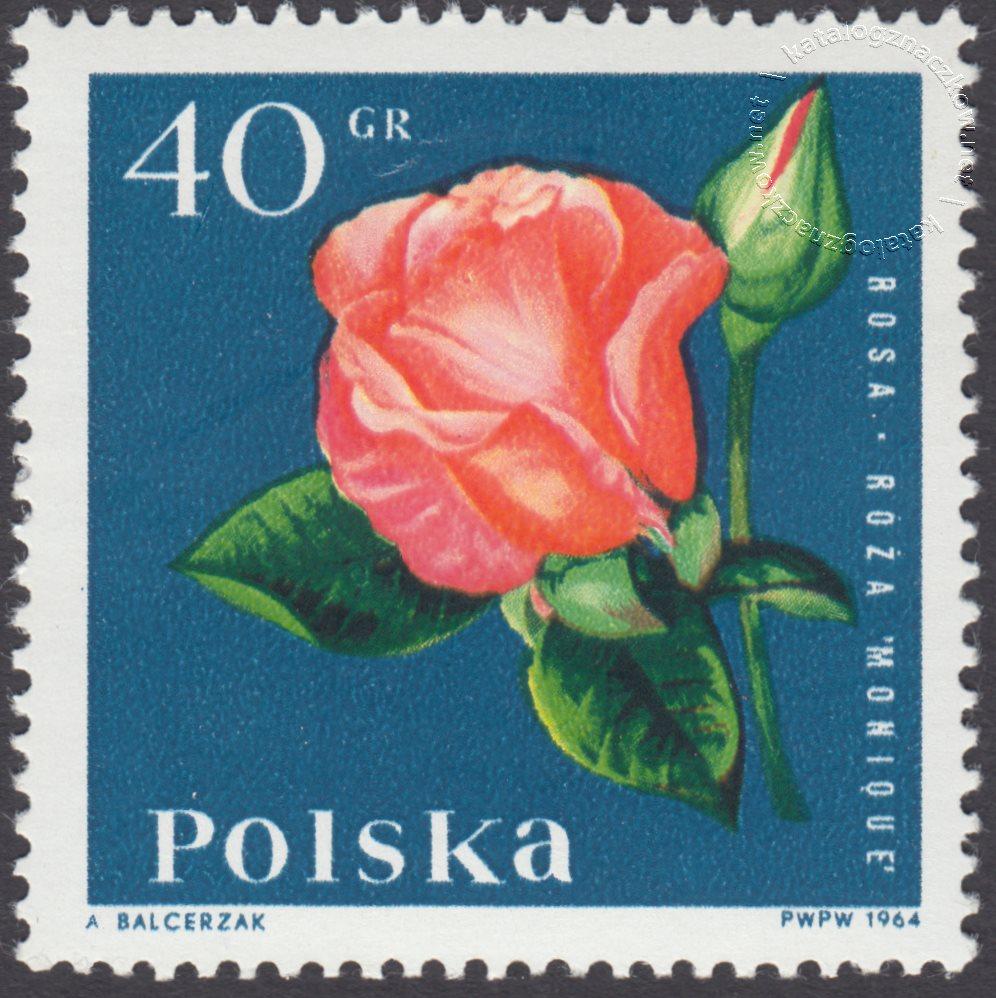 Kwiaty ogrodowe znaczek nr 1394