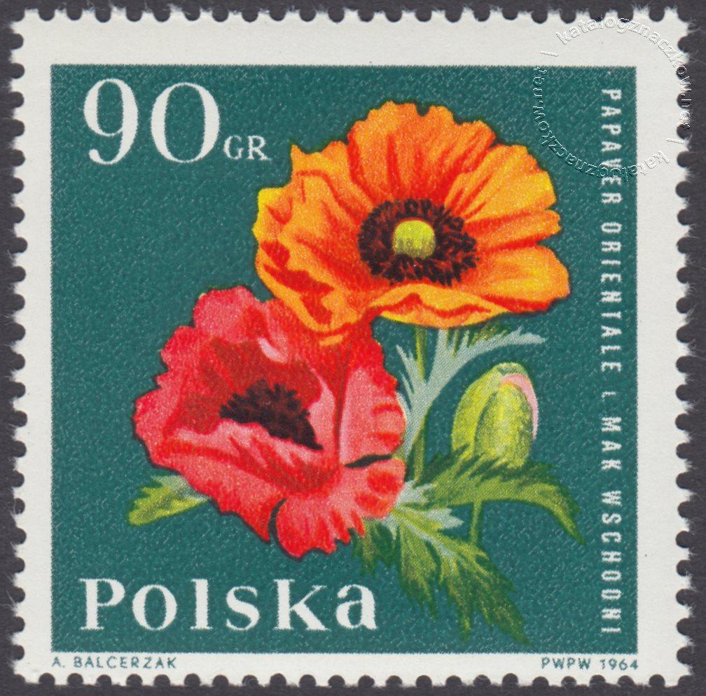 Kwiaty ogrodowe znaczek nr 1397