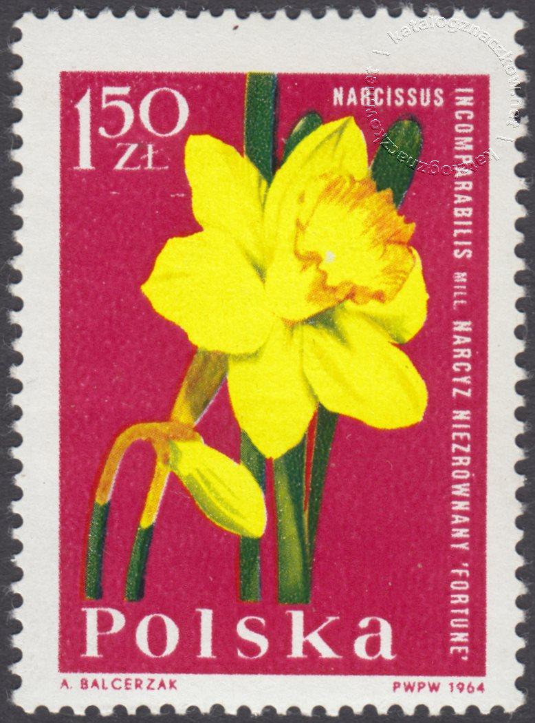 Kwiaty ogrodowe znaczek nr 1399