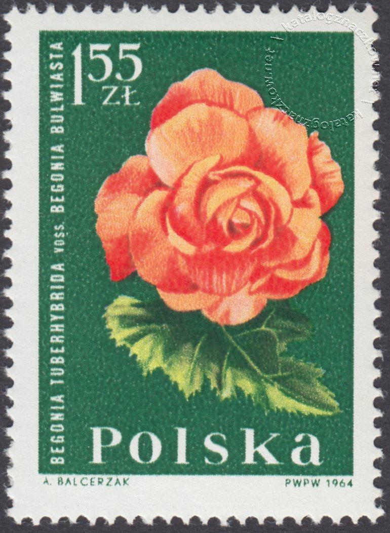 Kwiaty ogrodowe znaczek nr 1400