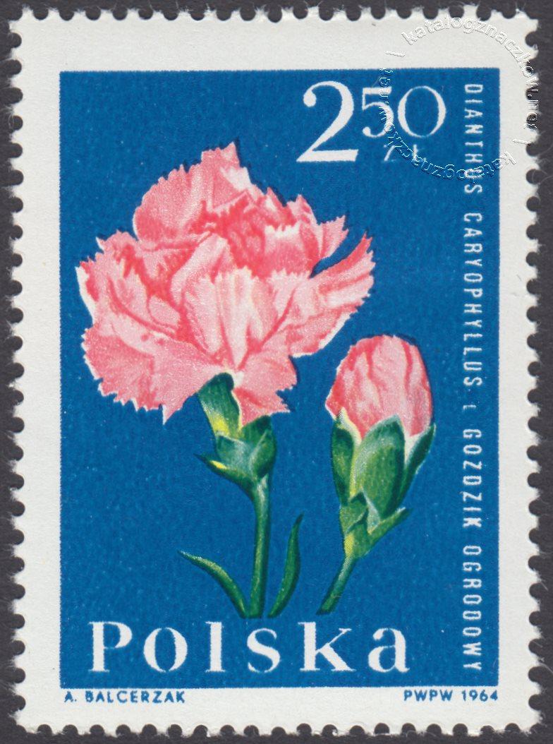 Kwiaty ogrodowe znaczek nr 1401