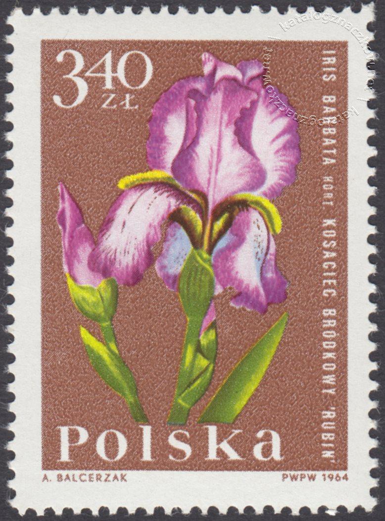 Kwiaty ogrodowe znaczek nr 1402
