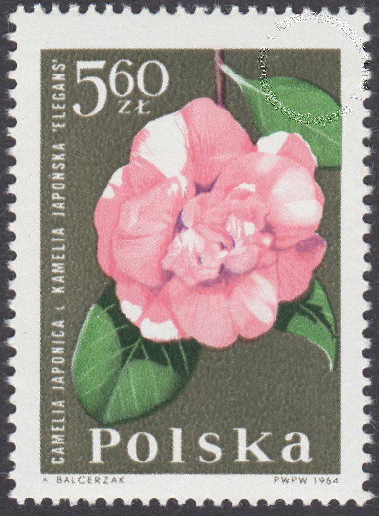 Kwiaty ogrodowe znaczek nr 1403