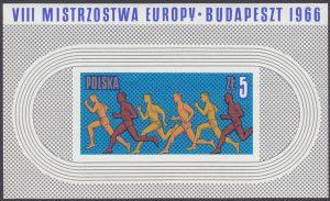 VIIII Lekkoatletyczne Mistrzostwa Europy w Budapeszcie - Blok 36