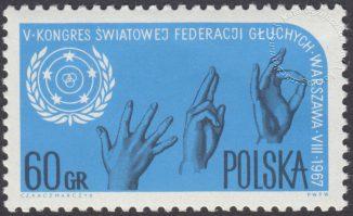 Kongres Światowej Federacji Głuchych - 1633