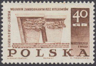 Pomniki walki i męczeństwa - 1671