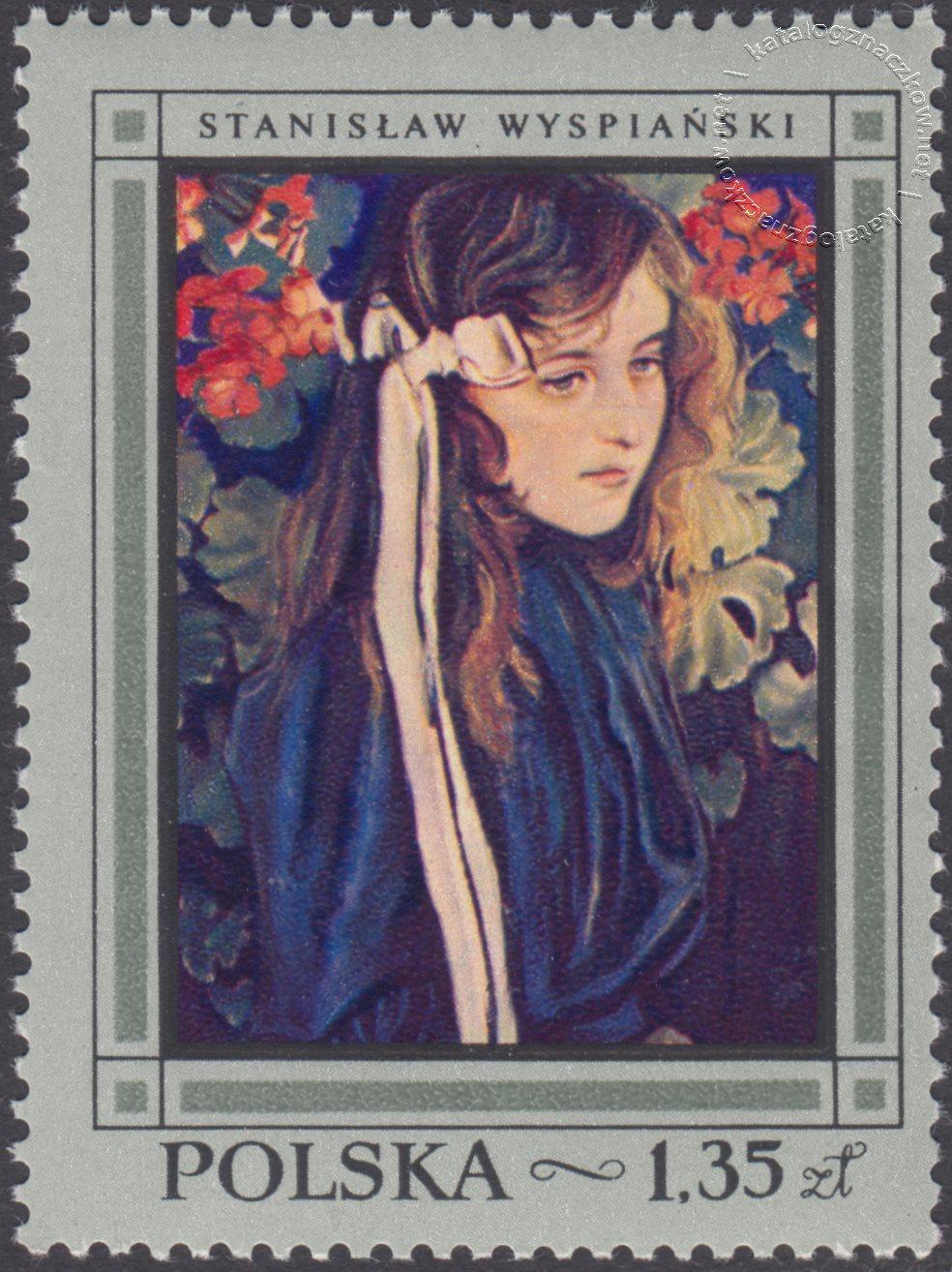 Malarstwo polskie znaczek nr 1720