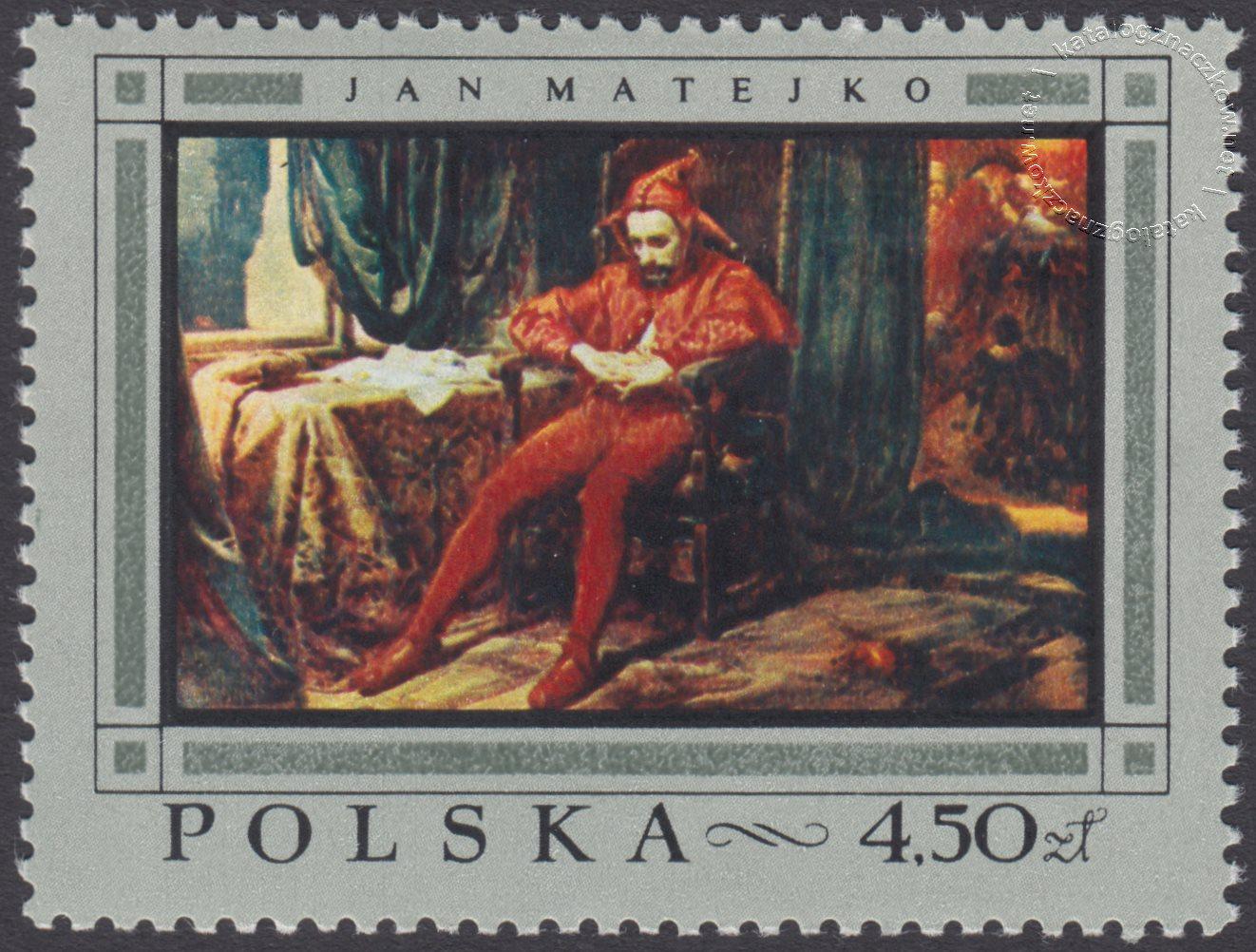 Malarstwo polskie znaczek nr 1722