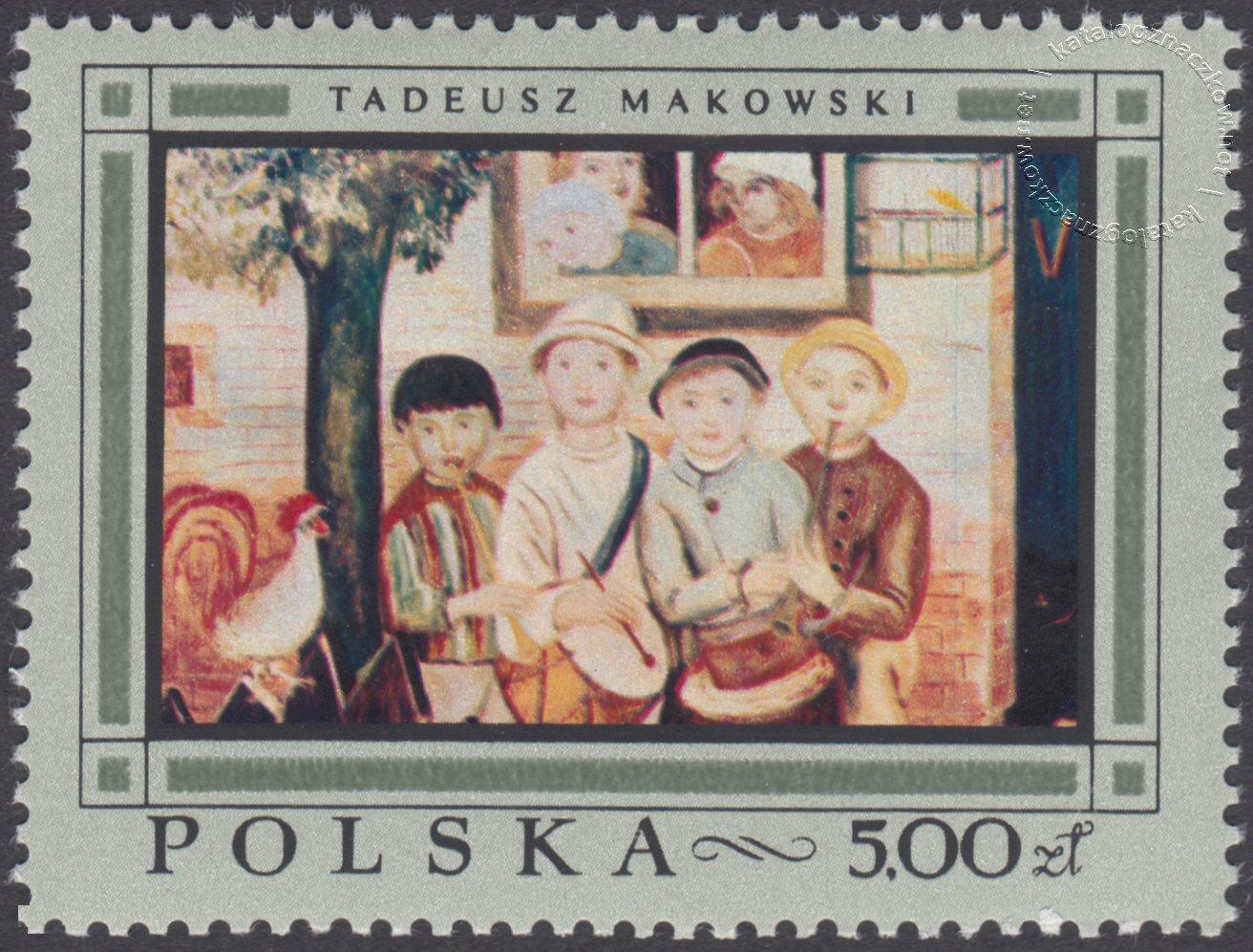 Malarstwo polskie znaczek nr 1723